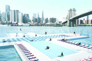 +Pool to test the waters in 10 spots around the city