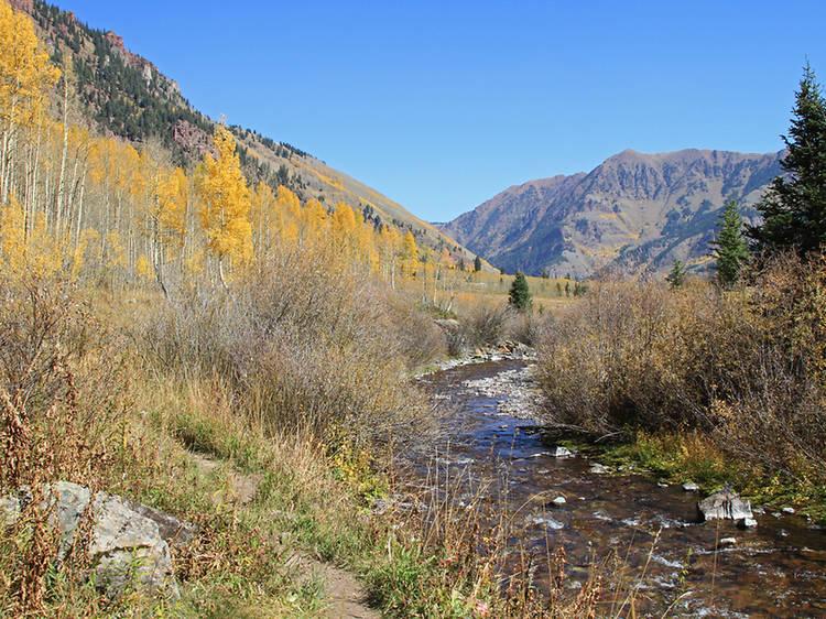 West Maroon Creek Trail, Colorado
