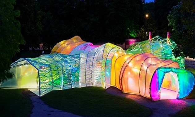 In 'stagrams: the oh-so-colourful Serpentine Pavilion