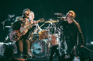 U2 brought its Innocence + Experience Tour to the United Center, kicking off a five-night stand on June 24, 2015.