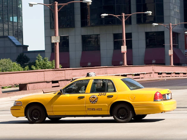 Here's how you should exit a taxi in Chicago