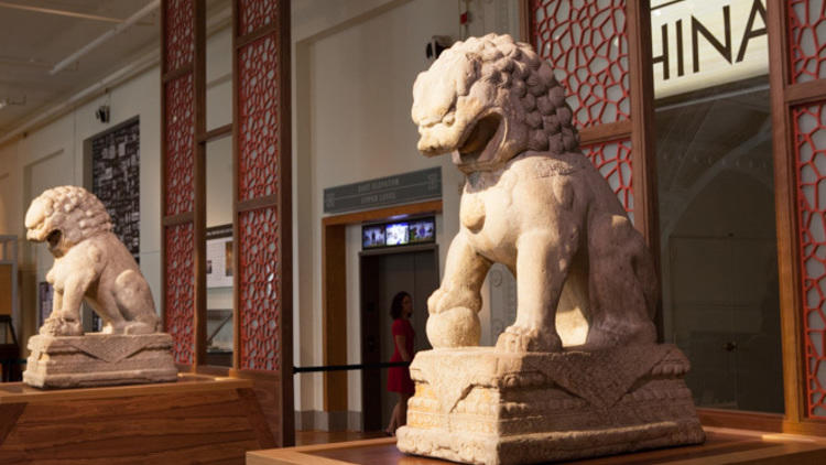 """Cyrus Tang Hall of China"" at the Field Museum"