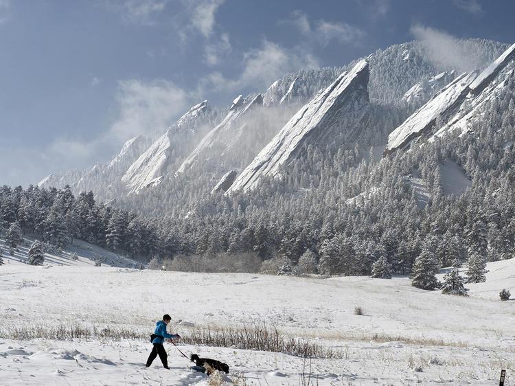 Hiking near Denver