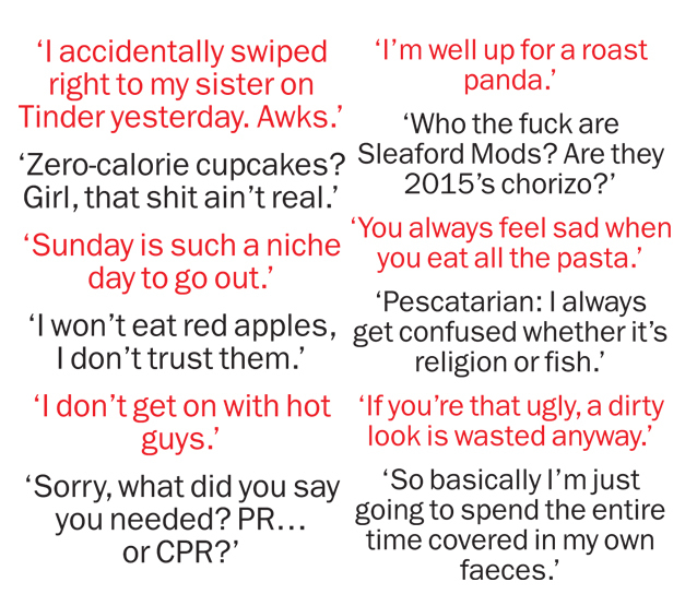Overheard in London: this week's #wordonthestreet