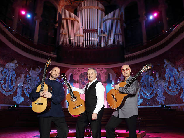 The Spanish guitar in concert: Barcelona Guitar Trio