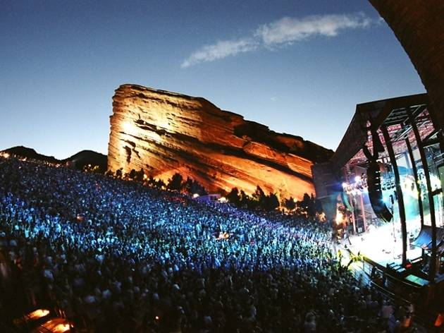 Red Rocks Park and Ampitheatre