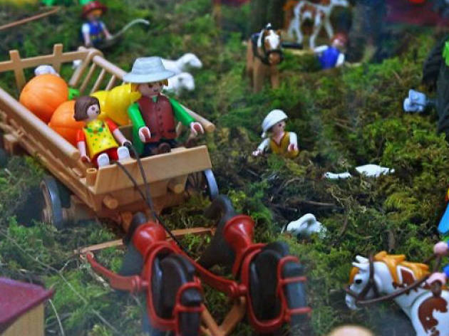 Playmobil en el MUJAM