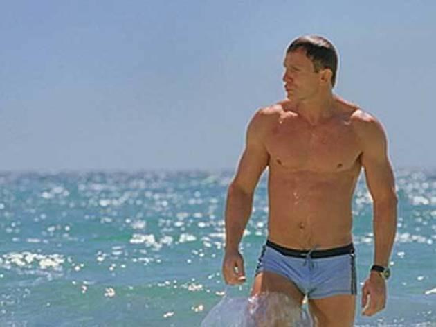 Daniel Craig banyador