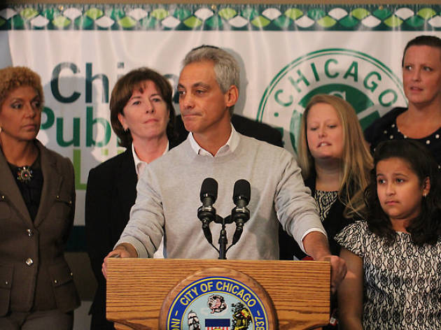Billionaire offering $250k to anyone who streaks in front of Rahm Emanuel