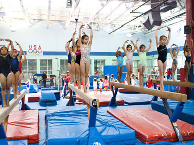 Kids' fitness centers in NYC