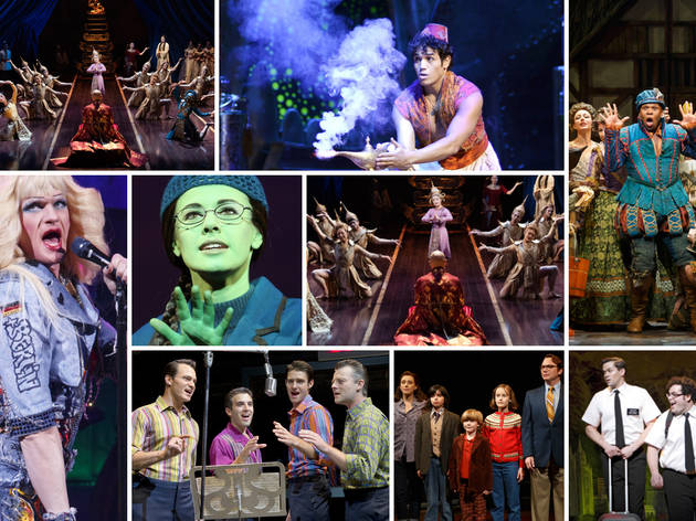 Broadway Musicals Currently Running