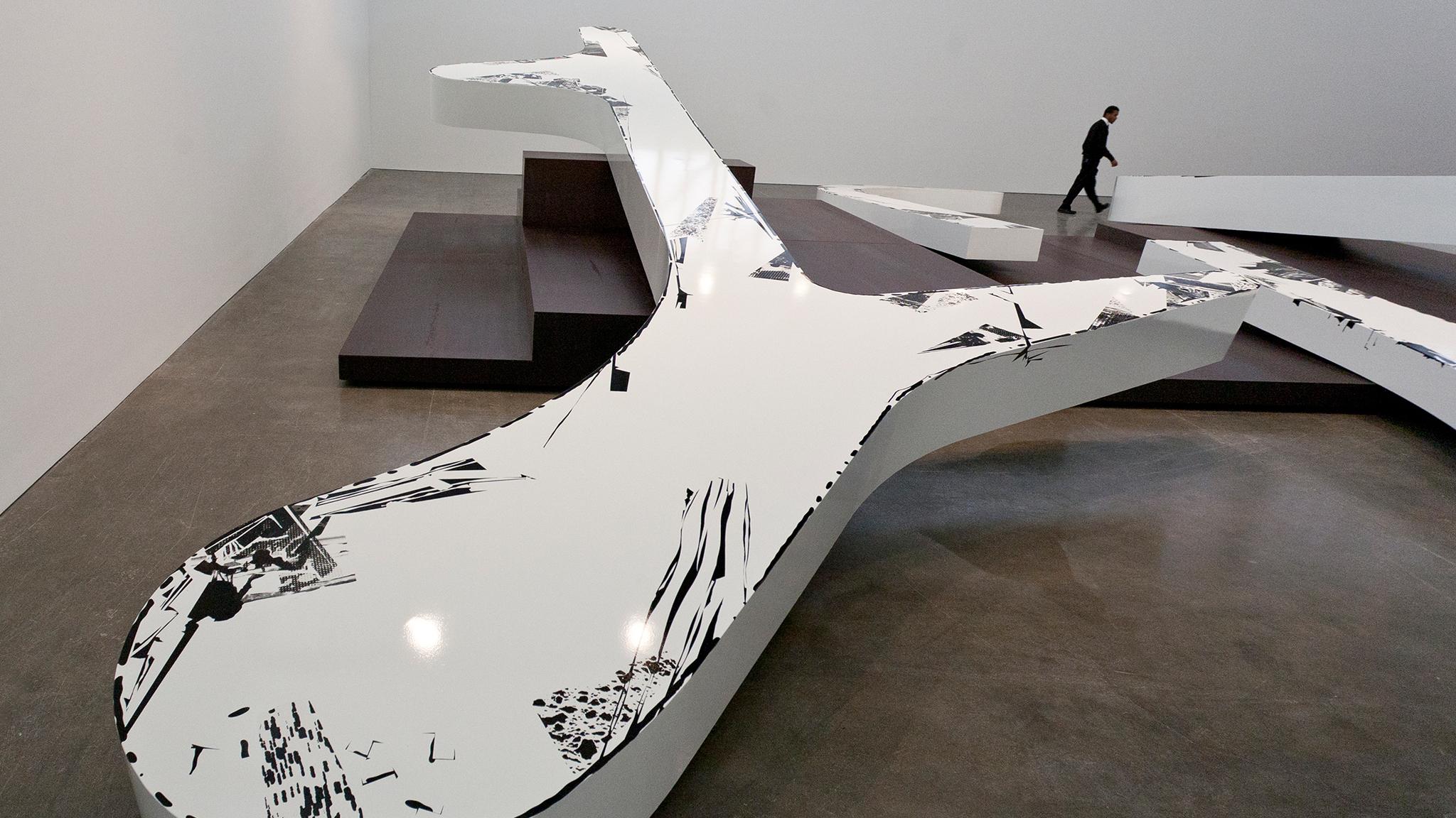 "Michael Heizer, ""Altars"""