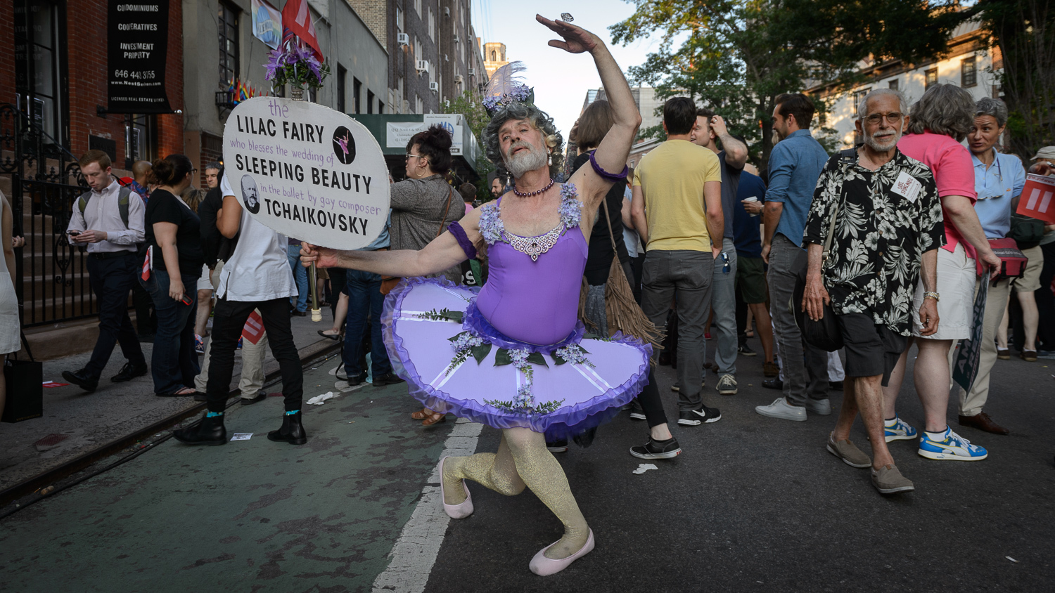 Photos of New Yorkers celebrating marriage equality
