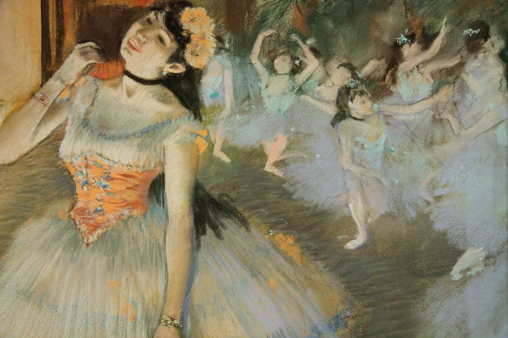 """Degas: At the Track, On the Stage"""