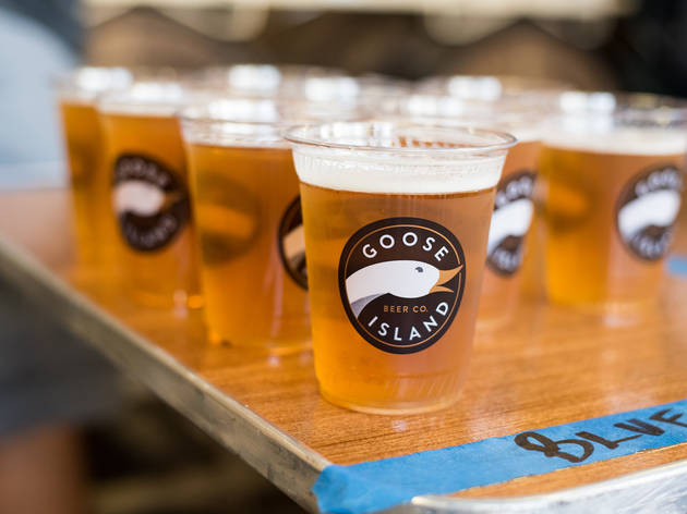 The Dog Dayz of Summer festival brought together Hot Doug's sausages and Goose Island beers.