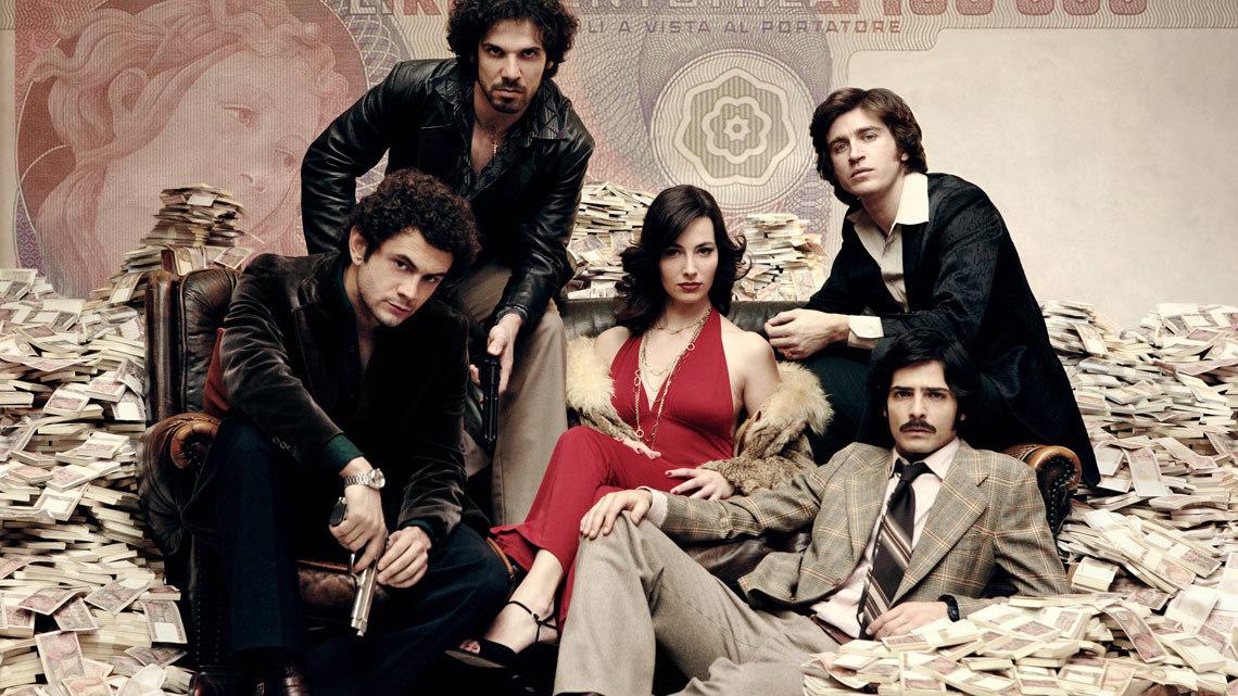 roma criminal, romanzo criminale, serielizados, serie tv