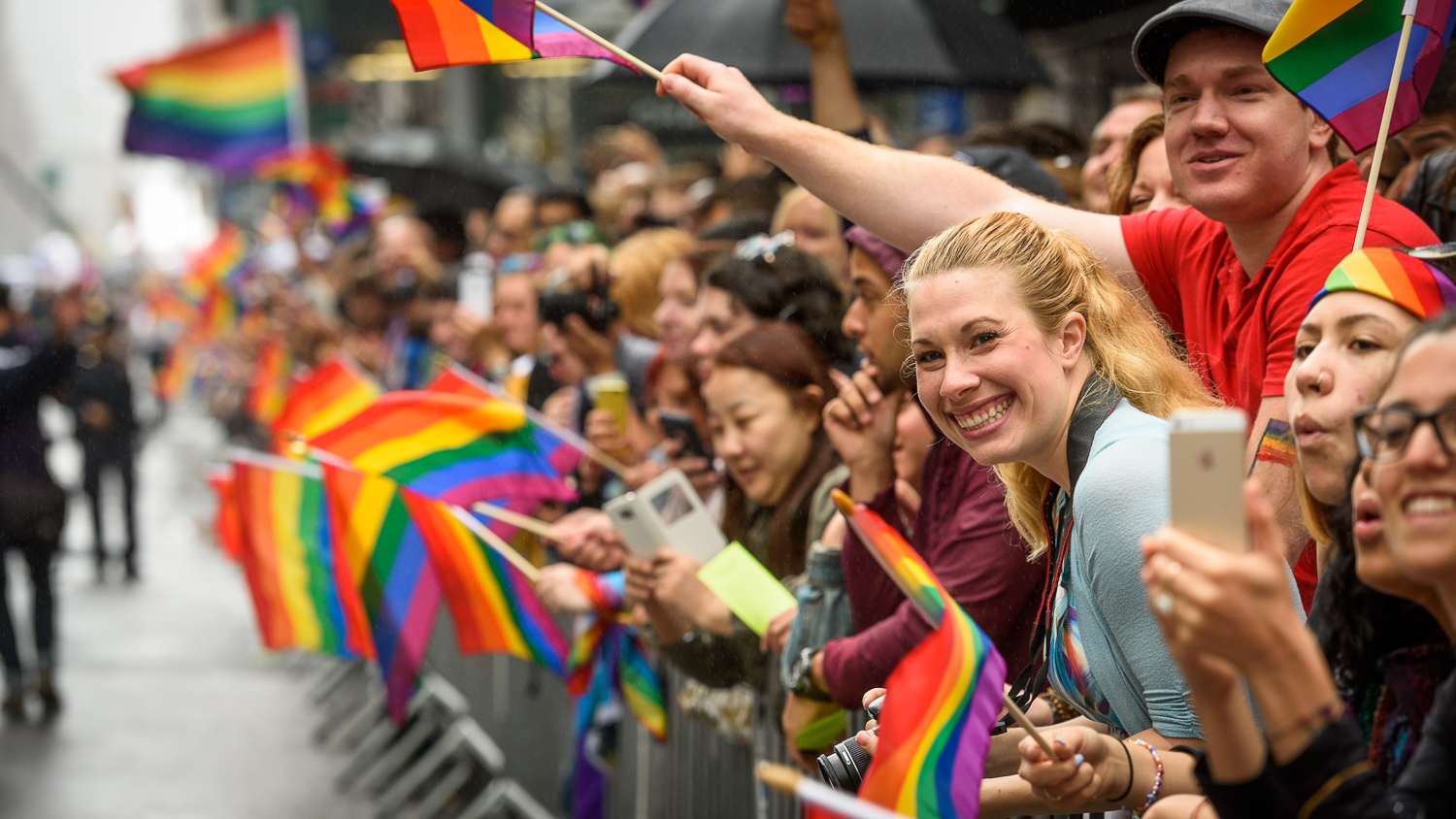 Awesome photos of the NYC LGBT Pride March