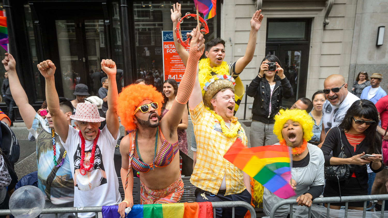 Photos of the NYC LGBT Pride March