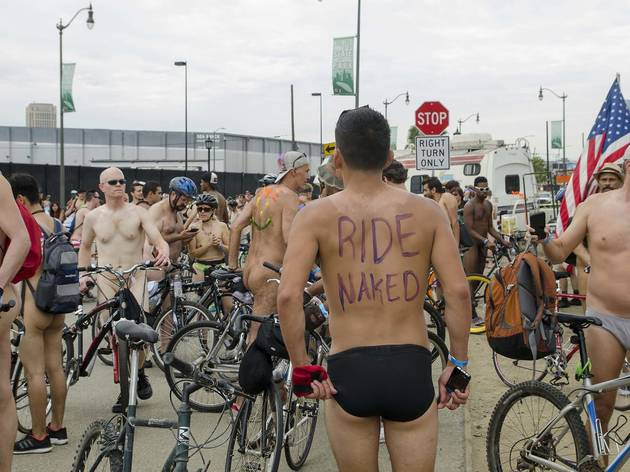 World Naked Bike Ride Los Angeles 2015 photos