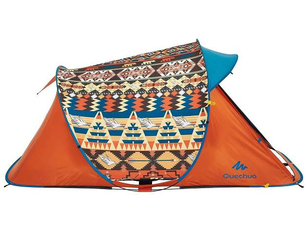 Quechua two seconds easy to pop-up tent