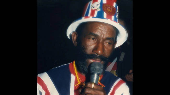 Lee 'Scratch' Perry at Gaz's Rockin Blues, 1986