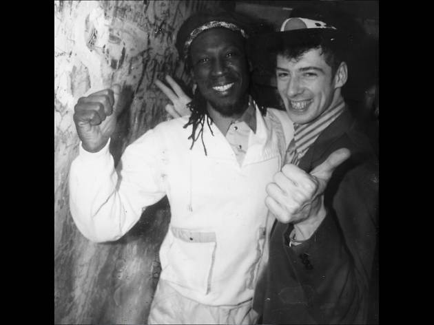 Gaz Mayall and Alton Ellis at Gaz's Rockin' Blues, 1987