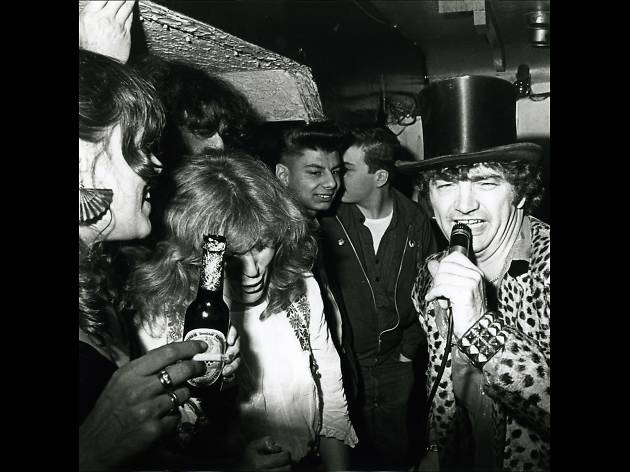 Screaming Lord Sutch at Gaz's Rockin' Blues, 1981