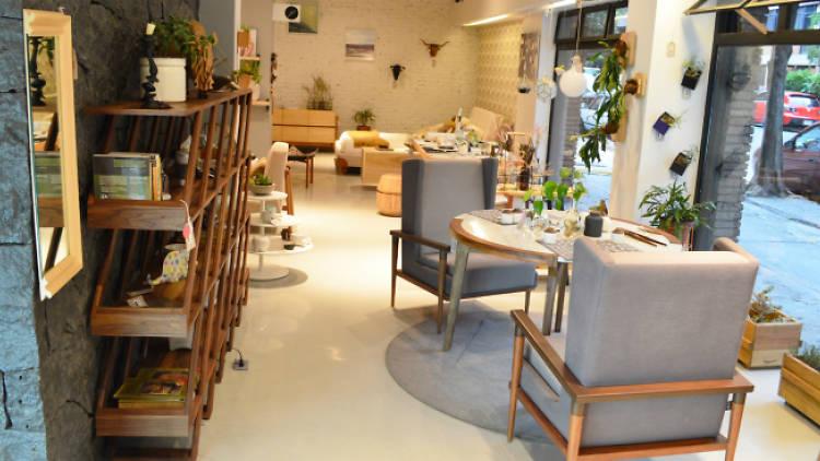 Mob es una mueblería de diseño en la Condesa.