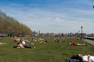 Hoboken in April