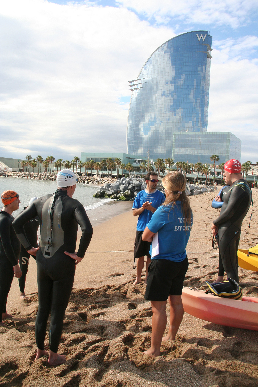 Esports a les platges de Barcelona