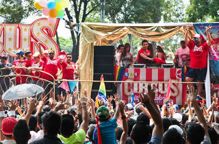 VD+ poniendo a bailar a todos (Foto: Alejandra Carbajal)