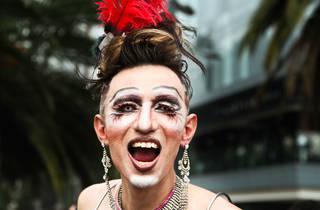 Celebrando el orgullo LGBTTTI (Foto: Alejandra Carbajal)