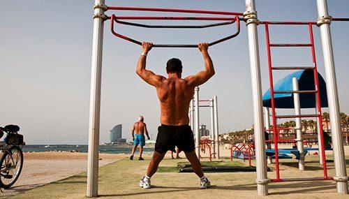 Circutos deportivos playa