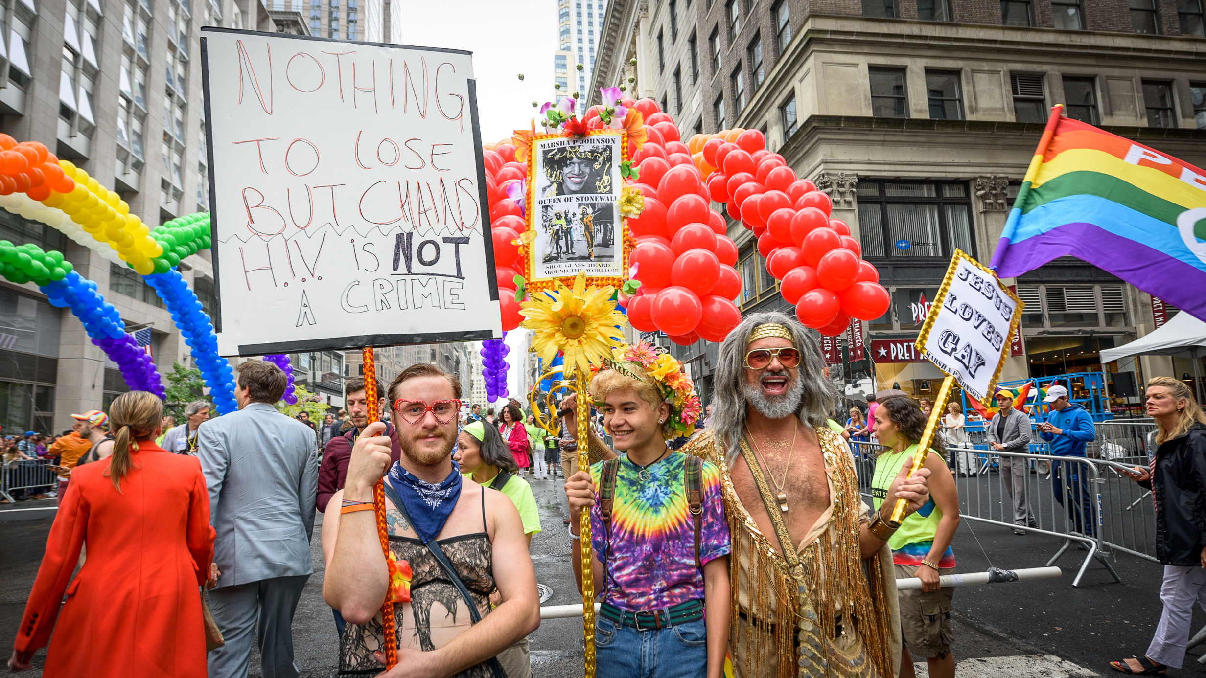Photos from Pride parades across America