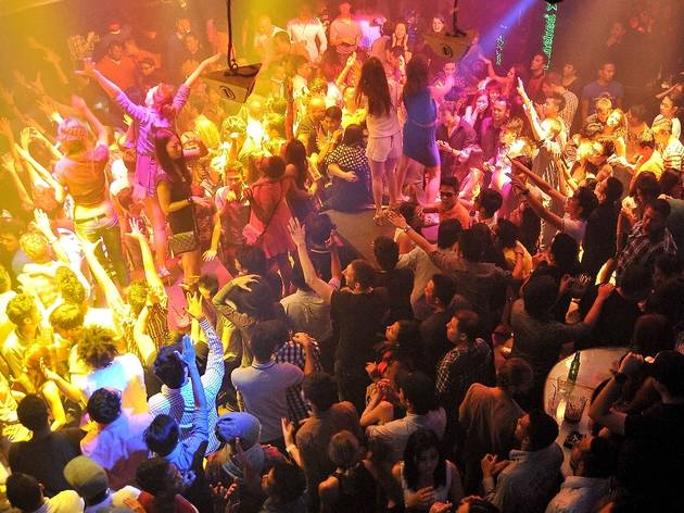Lights Out, Move Out at Zouk