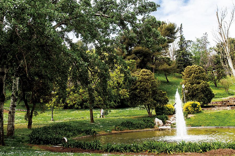 11 jardins amb encant de Barcelona