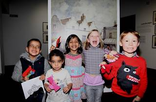 Family Workshops with Wandsworth Museum