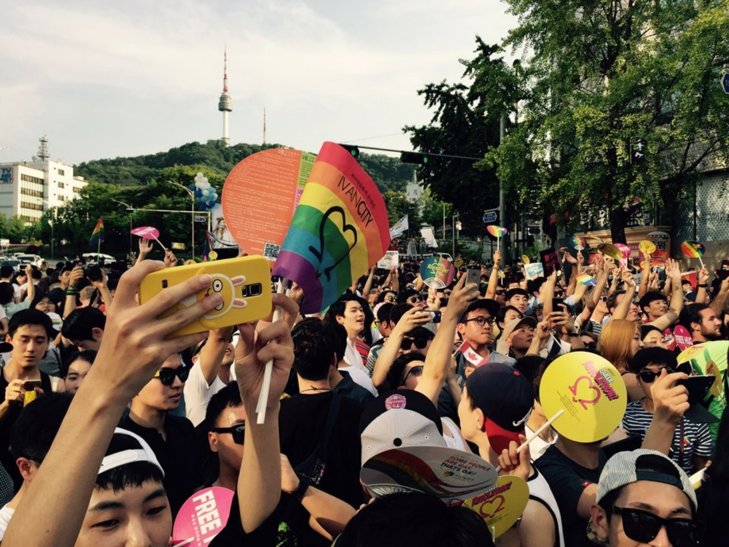 LGBTQ Korea's rainbow network