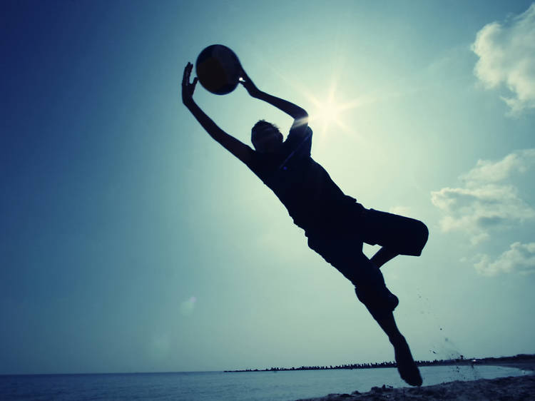 Play sports, make friends
