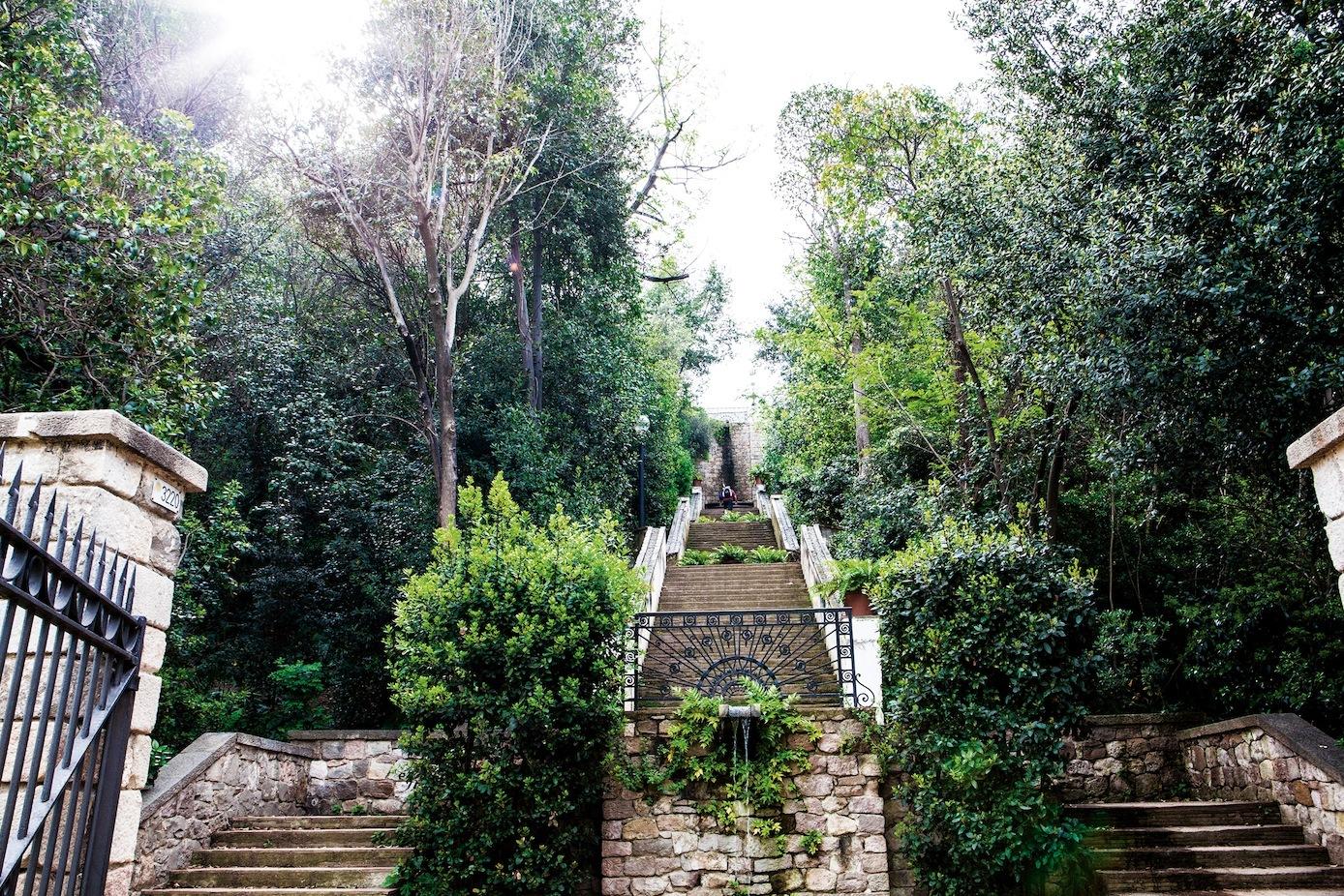 Escales del Generalife, Jardins de Laribal