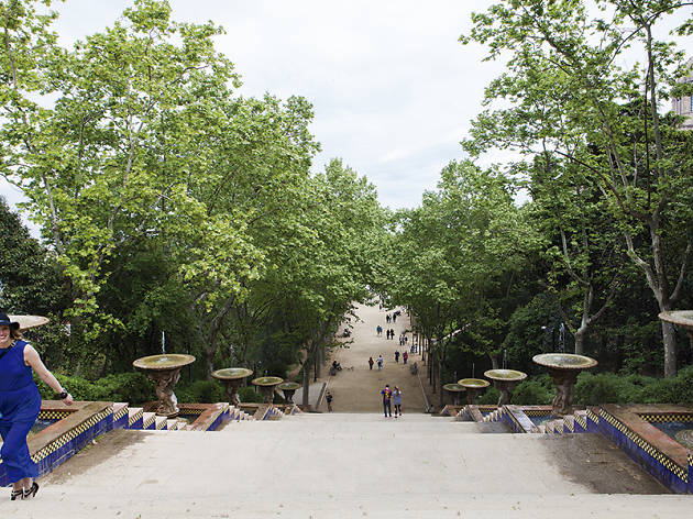 Passeig de Jean Forestier, Montjuïc