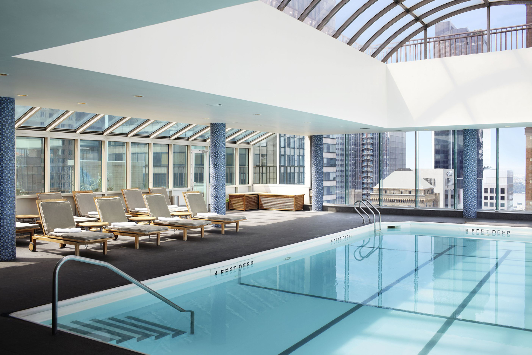 7 Amazing Hotel And Rooftop Pools In NYC You Can Swim In
