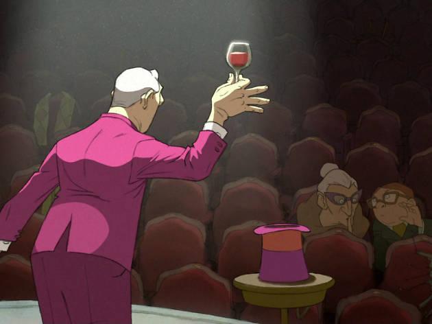 El Ilusionista en Film Club Café