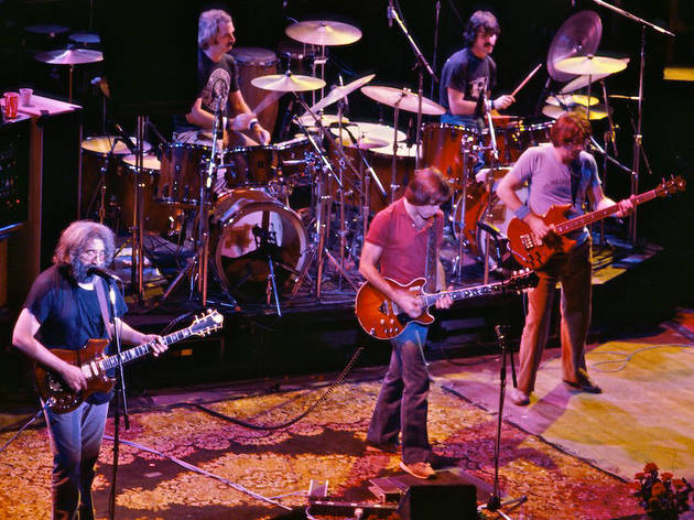 Grateful Dead at the Warfield Theatre in San Francisco, October 9, 1980.