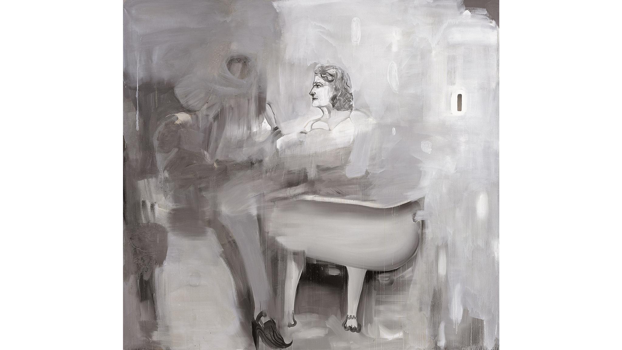Albert Oehlen, Bad, 2003