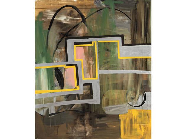 Albert Oehlen, Untitled, 1989