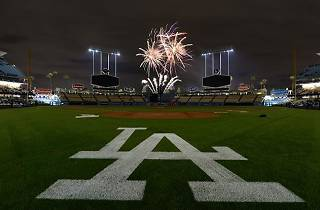 4th of July at Dodger Stadium