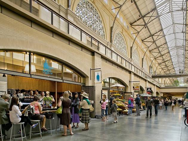 Ferry Building Marketplace, one of San Francisco's best grocery stores