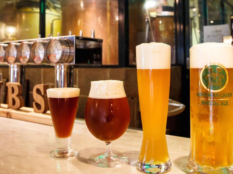 Top 10 brewpubs around Tokyo