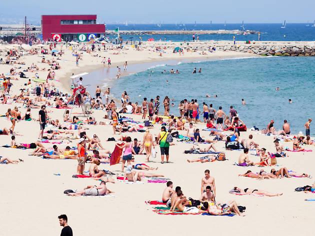 Guía de las playas de Barcelona